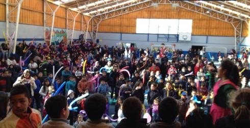 Felices estaban los niños de Quilaco ya que el dìa Viernes 08 de Agosto, el municipio congregó a todos los...