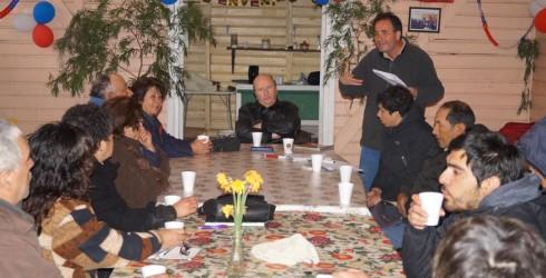 """El día 23 de septiembre se constituyó la""""Primera Agrupación de Turismo Loncopangue"""", y contó con la presencia de 14 socios..."""
