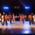 Muy contentos se despidieron anoche el Ballet Folclorico Nacional BAFONA de su función aquí en la Comuna de Quilaco, luego...
