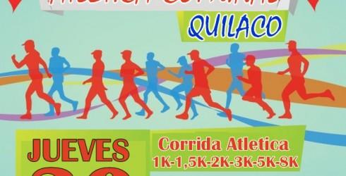 CORRIDAATLÉTICACOMUNAL 2014, a realizarse el próximo jueves 30 de Octubre enQuilaco. La actividad está organizada por la Oficina de Deportes,...