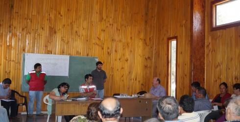 El dìa Miércoles 28 de Enero del año en curso en el sector de Campamento, en una reunión ampliada con...