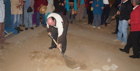 Ayer 31 de Marzo el Alcalde de la Comuna dió el vamos a la construcción de la Sede Comunitaria del...