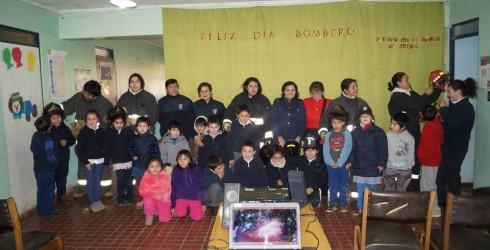 Como una forma de celebrar el aniversario Nº 164 de la Creación del Primer Cuerpo de Bomberos de Chile y...