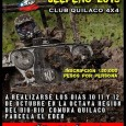 Actividad que se realizara el: día 10 de Octubre en la localidad de Loncopangue, sector El Estero. Día-11 de Octubre...