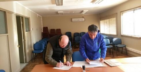 El día Viernes 10 de Junio el alcalde de la Comuna D.Rolando Tirapegui M. junto al representante del Intendente de...