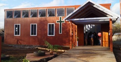 Con la presencia del Alcalde de la Comuna D. Rolando Tirapegui M., Comunidad cristiana del sector y colaboradores , el...