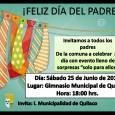 Para este sábado 25 de junio está programada la celebración del día del padre en nuestra comuna, la cual, se...