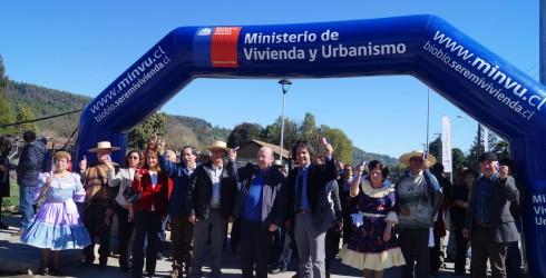 La Primera Autoridad Comunal Don Rolando Tirapegui acompañado del Honorable Diputado de la República Jose Pérez Arriagada, el Secretario Regional...