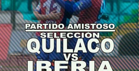 La Municipalidad de Quilaco, invita a todos los vecinos al partido de fútbol entre la Selección de Quilaco y Deportes...