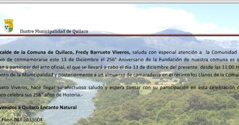 La Ilustre Municipalidad de Quilaco, informa el horario y recorrido de los buses de acercamiento, para quienes nos acompañen en...