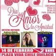 """La Ilustre Municipalidad de Quilaco y su alcaldeFredy Barrueto Viveros, invitan a la comunidad a Celebrar el """"Día del Amor..."""