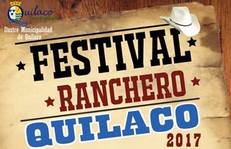 """La Ilustre Municipalidad de Quilaco invita a toda la comunidad a disfrutar del """"Festival Ranchero Quilaco 2017″ a realizarse el..."""