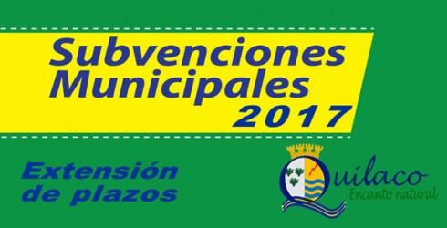 Fredy Barrueto Viveros, Alcalde de la comuna de Quilaco junto al Concejo Municipal, decidieron extender el plazo para la solicitud...