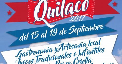 A la 1a Fiesta Criolla Quilaco 2017, la cual se realizará desde este viernes 15 al 19 de Septiembre en...
