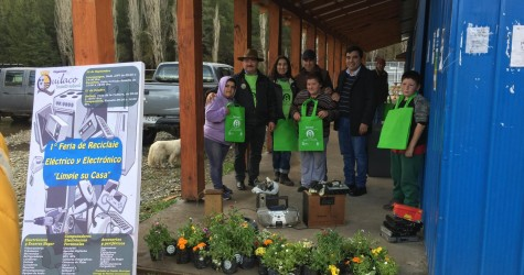La actividad de reciclaje fue organizada por la oficina de Secretaría Municipal de la Municipalidad de Quilaco, y auspiciada por...