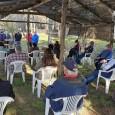 El alcalde Pablo Urrutia Maldonado, acompañado de los directores municipales de Secplan y Obras, además del encargado jurídico de la...
