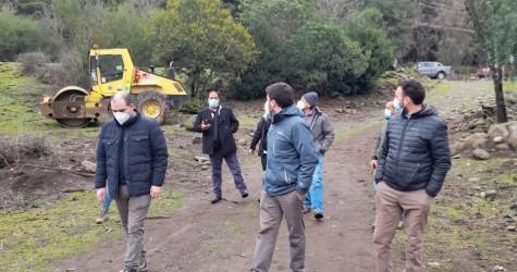 El alcalde Pablo Urrutia Maldonado acompañado de nuestros directores de Secplan y Obras, efectuaron junto a profesionales de Colbún Energía...